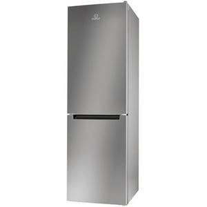 Combina frigorifica INDESIT LR8 S1 S, Low Frost, 339 l, H 188.8 cm, Clasa A+, argintiu CBFLR8S1S