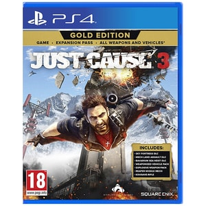 Just Cause 3 Gold Edition PS4 JOCPS4JUSTC3GE