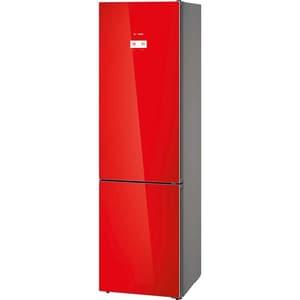Combina frigorifica BOSCH KGN39LR35, No Frost, 366 l, H 203 cm, Clasa A++, rosu CBFKGN39LR35