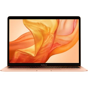 "Laptop APPLE MacBook Air 13 mvfm2ze/a, Intel Core i5 pana la 3.6GHz, 13.3"" IPS Retina, 8GB, SSD 128GB, Intel UHD Graphics 617, macOS Mojave, Gold - Tastatura layout INT LAPMVFM2ZEA"