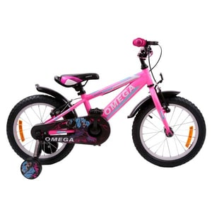 "Bicicleta copii Omega Master 2018, 16"", roz BCLMASTER16RZ"