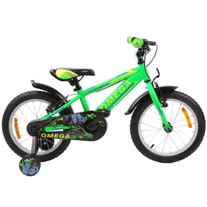 "Bicicleta copii Omega Master 2018, 20"", verde BCLMASTER20V"