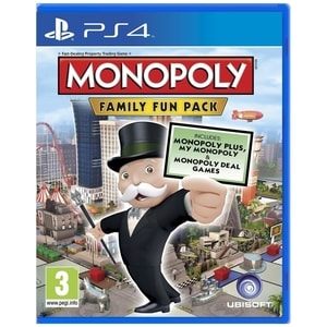 Monopoly Family Fun Pack PS4 JOCPS4MONOPOLY