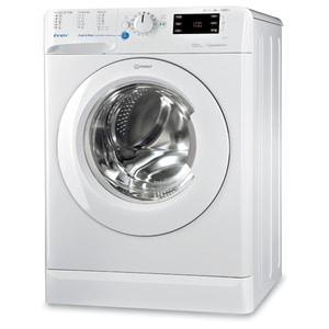 Masina de spalat rufe frontala INDESIT BWE 81284X W EU, Push & Wash, 8kg, 1200rpm, Clasa A+++, alb MSFBWE81284XW