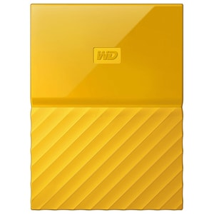 Hard Disk Drive WD My Passport WDBYFT0040BYL, 4TB, USB 3.0, galben HDDWDBYFT0040BY