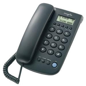 Telefon fix cu fir MYRIA Desk MY9001, negru TLFMY9001DESK