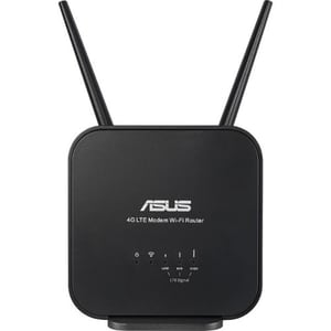 Router Wireless portabil ASUS N300 4G-N12 B1, Single-Band 300 Mbps, negru ROU4GN12B1