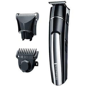 Aparat de tuns barba si mustata REMINGTON MB4110, retea+acumulator, negru-argintiu TNSMB4110