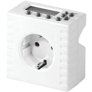 Priza programabila pentru interior HOME TD 01, IP20, alb PRZTD01