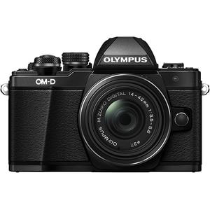 Aparat foto Mirrorless OLYMPUS E-M10 MARK II 1442, 16 MP, Wi-Fi, negru + Obiectiv 14-42mm MLCEM10II1442BK
