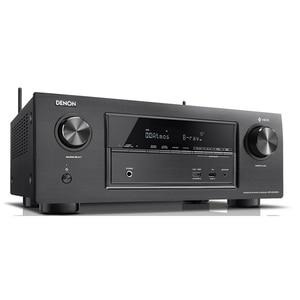 Receiver DENON AVR-X3400H, Dolby Vision, Dolby Atmos, WLAN, Bluetooth, negru RAVAVRX3400H