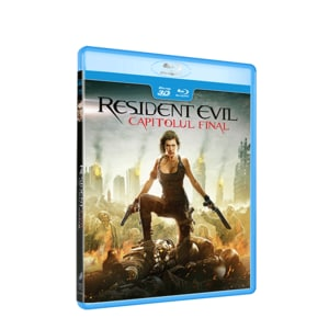 Resident Evil: Capitolul final Blu-ray 3D BD-3DRESEVILFIN