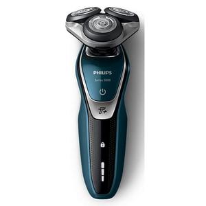 Aparat de barbierit PHILIPS Series 5000 S5672/41, acumulator, autonomie 60 min, MultiPrecision, albastru RASS5672-41