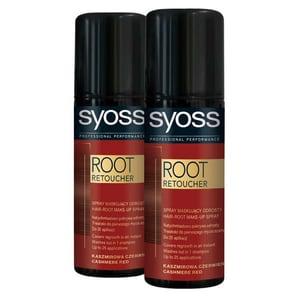 Pachet promo, Vopsea de par SYOSS Root Retoucher, Cashmire Red, 2 x 120ml PAKHBSY0166