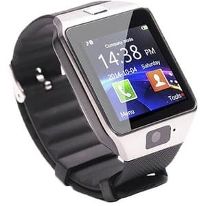 Smartwatch E-BODA Smart Time 200, Android/iOS, silicon, argintiu SMWSMART200