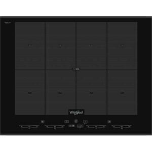 Plita incorporabila WHIRLPOOL SMO 658C/BT/IXL, inductie, 8 zone de gatit, negru PLTSMO658CBTIXL