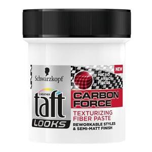 Pasta modelatoare pentru par TAFT Carbon Force, 130ml HSTHBTA0049