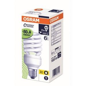 Bec fluorescent OSRAM DTwist, E27, 23W, 2700K, alb cald BECOSRAMTWIST23