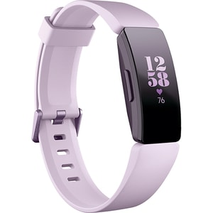 Bratara fitness FITBIT Inspire HR, Android/iOS, silicon, Lilac BRAINSPIREHRLL