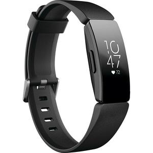 Bratara fitness FITBIT Inspire HR, Android/iOS, silicon, negru BRAINSPIREHRBK