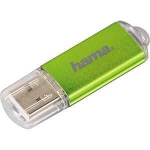 Memorie USB HAMA Laeta 104300, 64GB, USB 2.0, verde USBLAETA104300