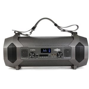 Boxa portabila E-BODA The Vibe 400, Bluetooth, MicroSD, Radio FM, negru DOCVIBE400