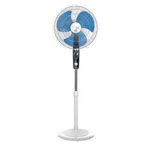 Ventilator cu picior ROWENTA Mosquito Protect VU4210, 3 trepte viteza, 40cm, 60W, alb-albastru VNTVU4210