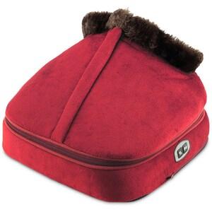 Incalzitor si aparat de masaj pentru picioare si corp, DORMEO Wellneo 3in1 Warm Massager, Rosu TXT110037312