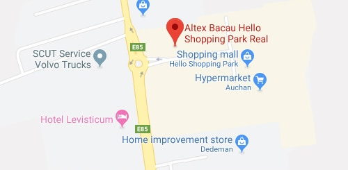 Altex Bacau Hello Shopping Park