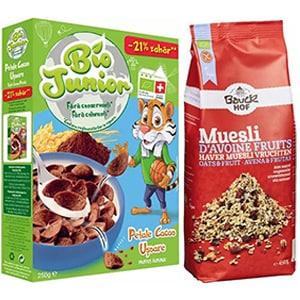 Cereale, musli si fulgi