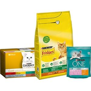 Hrana pentru pisici