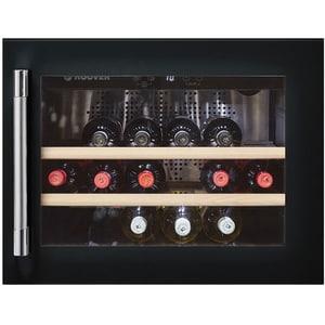 Racitor de vinuri incorporabil HOOVER HWCB 45, 18 sticle, H 45.5cm, Clasa A, negru