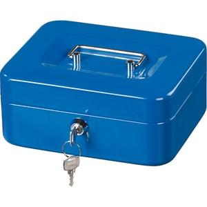 Caseta de valori Hama Basic KC 200D, otel, albastru