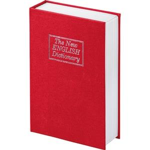 Caseta de valori Hama Book Safe BS 180, otel, rosu