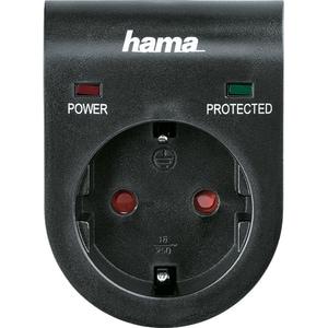 Adaptor cu protectie HAMA 108878, negru