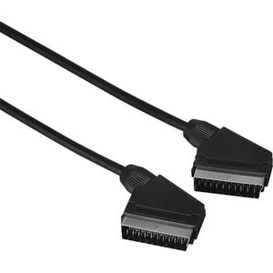 Cablu video Scart HAMA 205081, 1.5m, negru