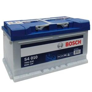 Baterie auto BOSCH S4 010, 12V, 80Ah, 740A
