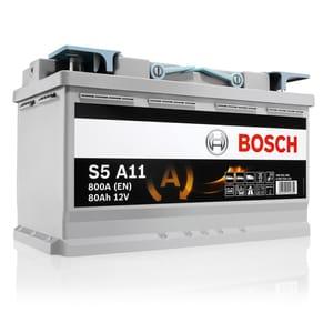 Baterie auto Start-stop AGM BOSCH S5 A11, 12V, 80Ah, 800A
