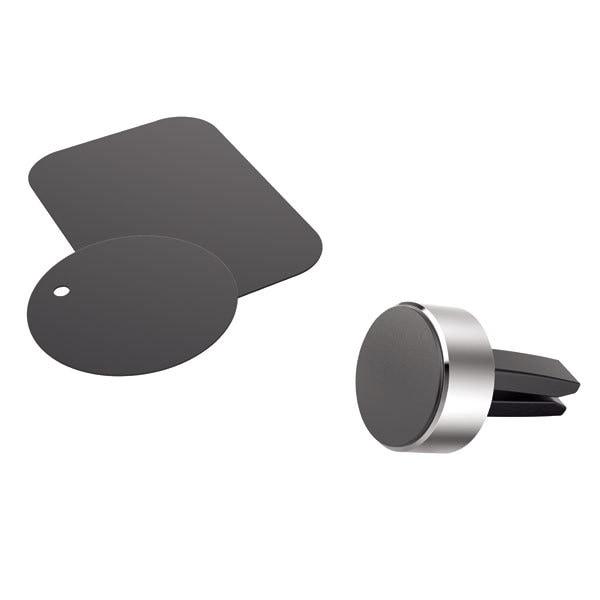 Suport auto universal HAMA Magnet Alu 173765, magnetic, ventilatie, negru
