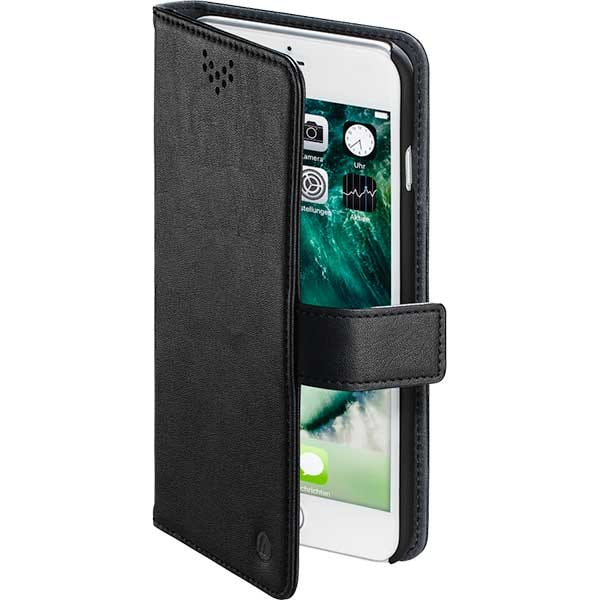 Husa Flip Cover pentru Apple iPhone 6 Plus / 7 Plus / 8 Plus, HAMA Stand-Up, 181289, negru
