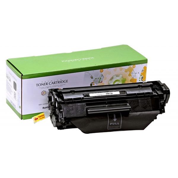 Toner STATIC CONTROL CRG-703 002-01-S2612A compatibil cu HP Q2612A/Canon, negru