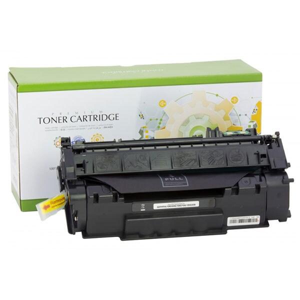Toner STATIC CONTROL CRG-708 002-01-S5949A compatibil cu HP Q5949A/Canon, negru