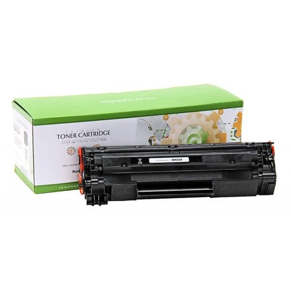 Toner STATIC CONTROL CRG-712 002-01-SB435AU compatibil cu HP CB435A/Canon , negru
