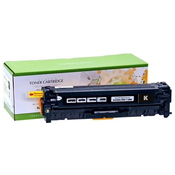 Toner STATIC CONTROL CRG-718B 002-01-SC530A compatibil cu HP CC530A/Canon, negru