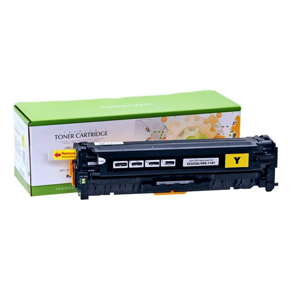 Toner STATIC CONTROL CRG-718Y 002-01-SC532A compatibil cu HP CC532A/Canon, galben