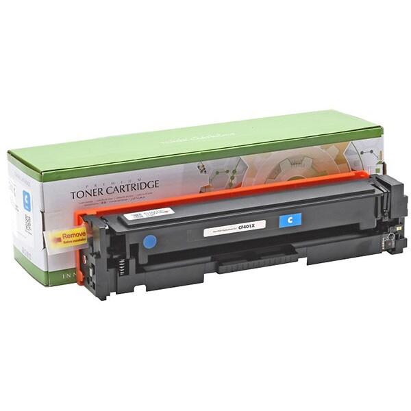 Toner STATIC CONTROL CRG-045HC 002-01-SF401X compatibil cu HP CF401X/Canon, cyan