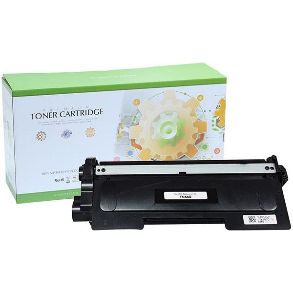 Toner STATIC CONTROL 002-03-STN660 compatibil cu Brother TN-2320, negru