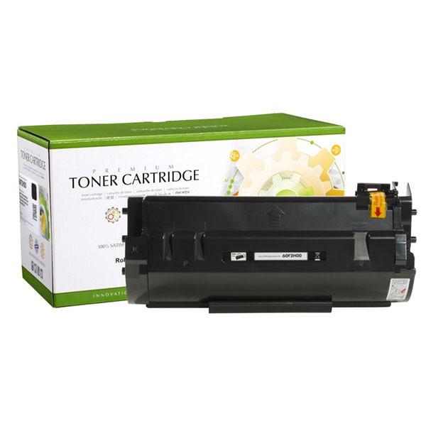 Toner STATIC CONTROL 002-06-S602H compatibil cu Lexmark 60F2H00, negru