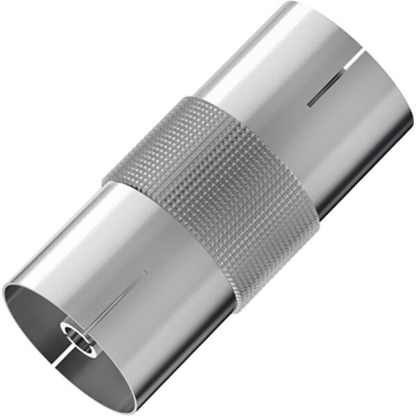 Conector antena Coaxial HAMA 205220, argintiu