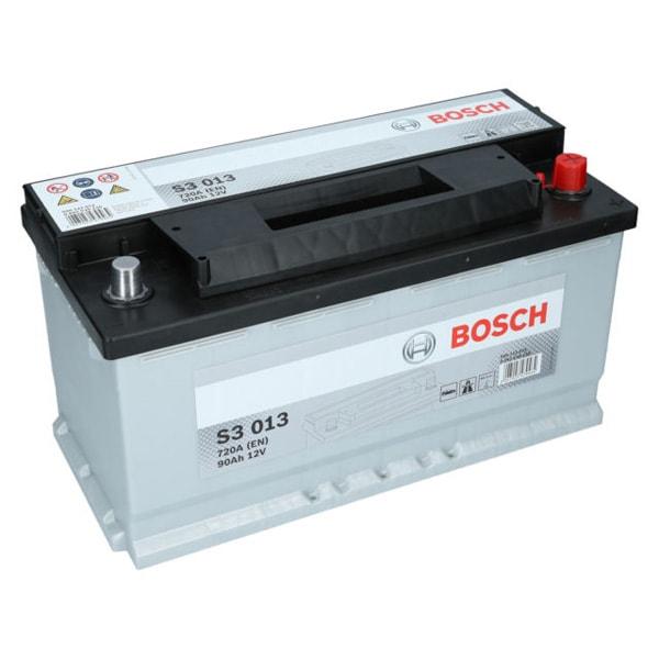Baterie auto BOSCH S3 013, 12V, 90Ah, 720A